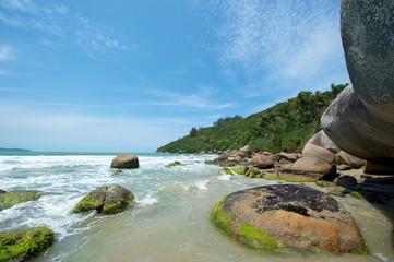 Praia da Conceição, Bominhas, Santa Catarina, Brazil