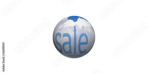 sphere with pattern and texture as background