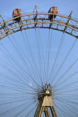 Historic ferris wheel of Vienna