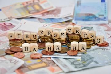 Steuersenkung ha ha ha
