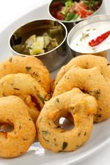 vada, indian snack food
