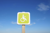 priority for the disabled poster