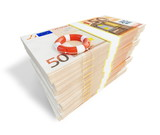 euro money lifeline ladder poster