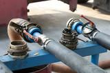 Truck Hoses for fuel station, pumps and oil barrels