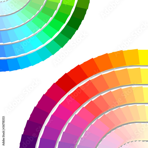 color spectrum palette