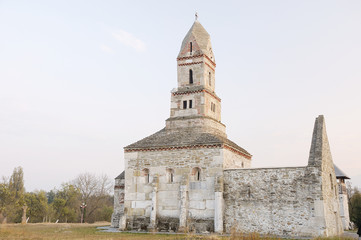 The stone church of Densus