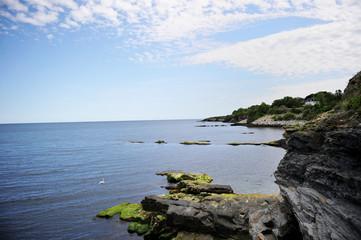 Cliff landsape near Newport, USA