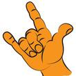 Symbol of rock music