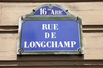 Paris street name