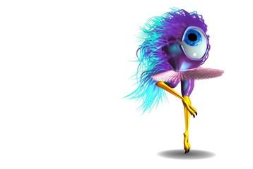 3d bolaojo mascota ballet