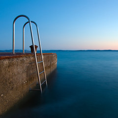 Ladders-to-the-sea