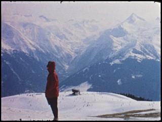 Winterurlaub um 1960