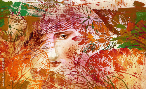 Kolekcja malarstwa: Autumn Lady
