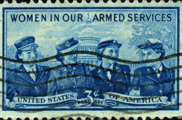 Women In Our Armed Services. US Postage.