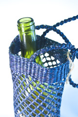 Wine Bottle in Carrier