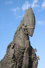 Trojan Horse in Canakkale, Turkey.
