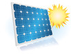 Solarzellen Modul 3d 4 Sonne