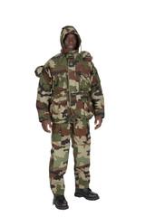 soldat en tenue de camouflage