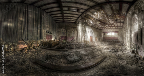 abandoned theater - 36741726