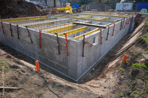 cellar construction side