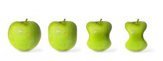 Pomme verte au régime