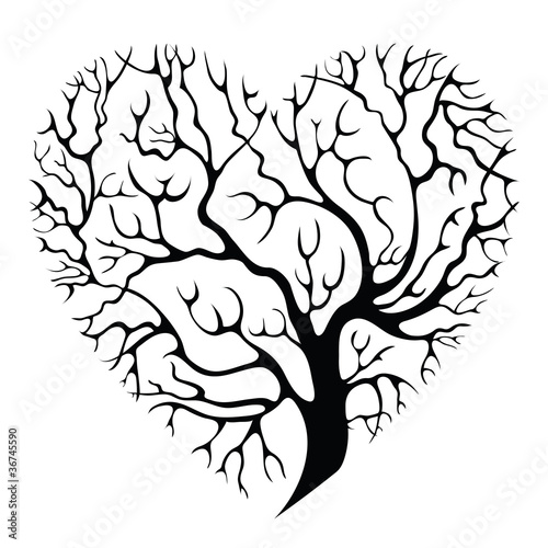 drzewo-serce
