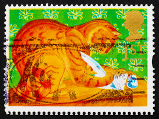 Postage stamp GB 1994 Orlando, the Marmalade Cat