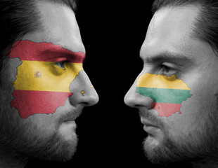 Spain  Against Lithuania
