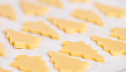 Rohe Butterplätzchen