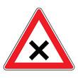 Verkehrsschild - 102 Kreuzung / Einmündung