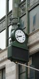 nostalgic clock in Boston poster