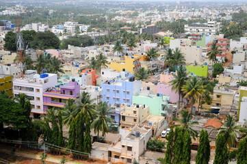 Bangalore von oben