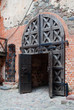 Inner gate of Trakai castle in Lithuania