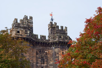 Lancaster castle gates (UK)