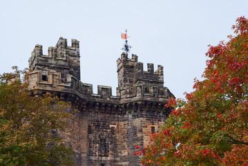 Lancaster castle gates (UK)