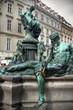 Thunder Fountain (Donnerbrunnen) in Vienna
