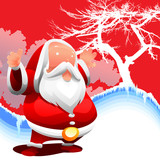 santa background