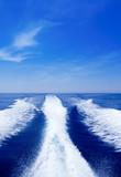 Fototapeta łódź - wodniactwa - Morze / Ocean