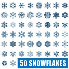 50 Snowflakes
