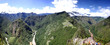 Panorama of Machu Picchu and Sacred Valley