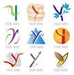 Ensemble d'Icones Lettre Y pour Design Logos