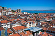 Roofs of the Lisbon, Portugal