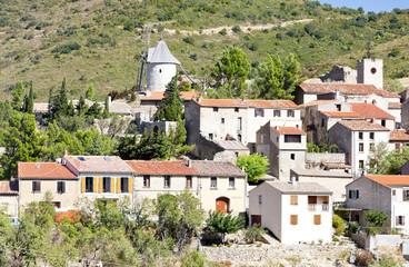 Cucugnan, Languedoc-Roussillon, France