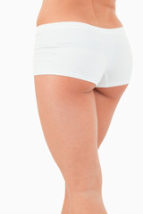 Portrait of feminine buttocks