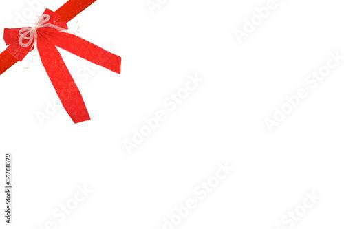 noeud de cadeau de noel ou anniversaire rouge de dreana photo libre de droits 36768329 sur. Black Bedroom Furniture Sets. Home Design Ideas