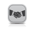 Business abwicklung hand icon modern