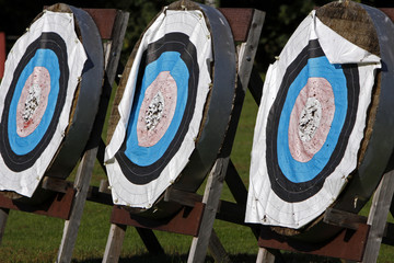 Zielscheiben für Bogenschiesssen