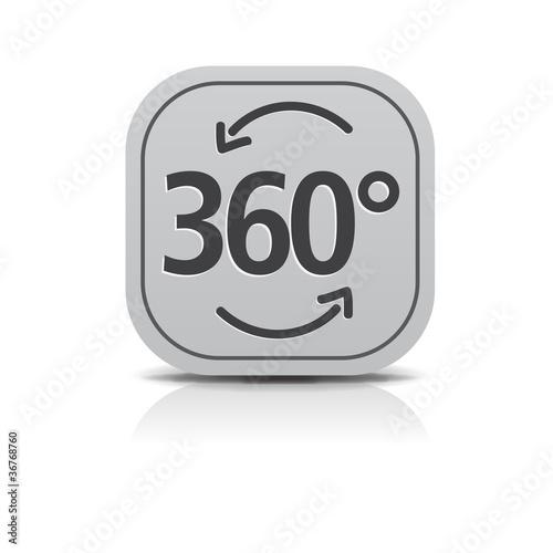 360 grad panorama Icon