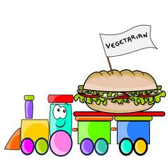 panino vegetariano