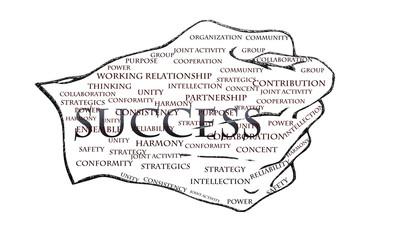 Success Business vector illustration